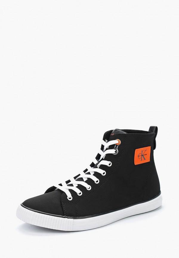 Купить Кеды Calvin Klein Jeans, CA939AMAPPW3, черный, Весна-лето 2018