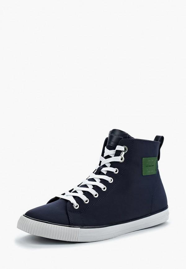 Купить Кеды Calvin Klein Jeans, ca939amappw4, синий, Весна-лето 2018