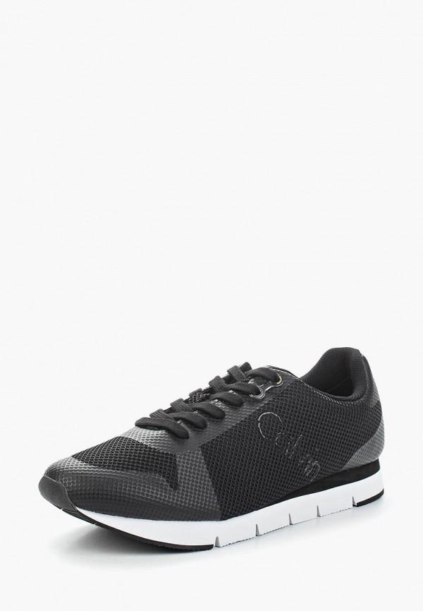 Купить Кроссовки Calvin Klein Jeans, ca939amappy7, черный, Весна-лето 2018