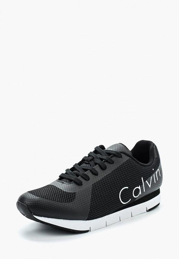 Купить Кроссовки Calvin Klein Jeans, ca939amappy9, черный, Весна-лето 2018