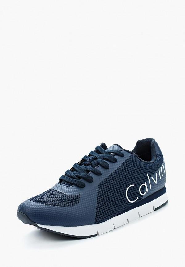 Купить Кроссовки Calvin Klein Jeans, ca939amappz1, синий, Весна-лето 2018