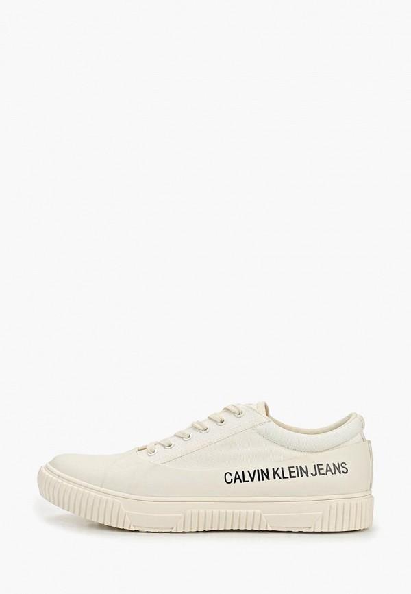 купить Кеды Calvin Klein Jeans Calvin Klein Jeans CA939AMEFCK4 дешево