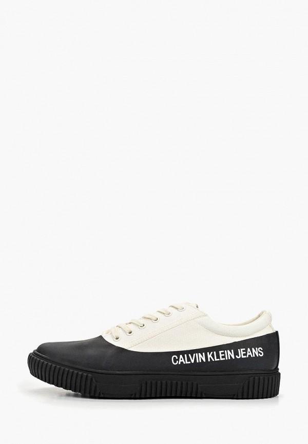 купить Кеды Calvin Klein Jeans Calvin Klein Jeans CA939AMEFCK5 дешево