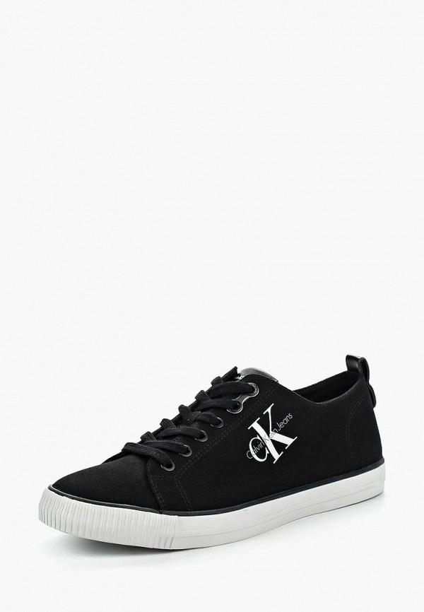 Купить Кеды Calvin Klein Jeans, ARNOLD, CA939AMLLH50, черный, Весна-лето 2018