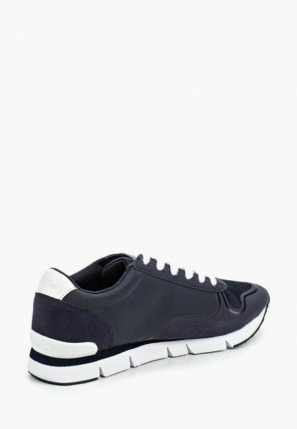 Фото 2 - Мужские кроссовки Calvin Klein Jeans синего цвета