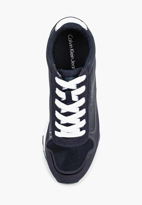 Фото 4 - Мужские кроссовки Calvin Klein Jeans синего цвета