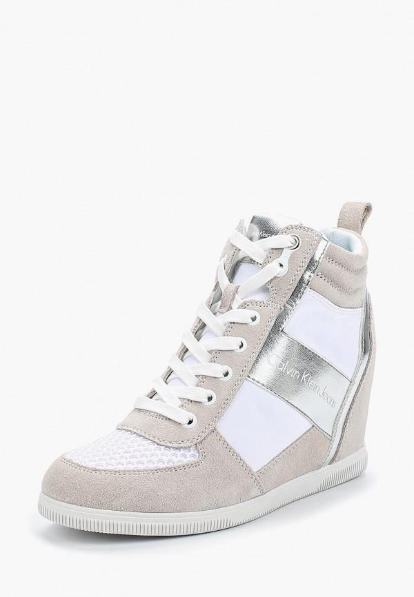 Купить Кеды Calvin Klein Jeans, BETH, CA939AWAPQB3, серый, Весна-лето 2018
