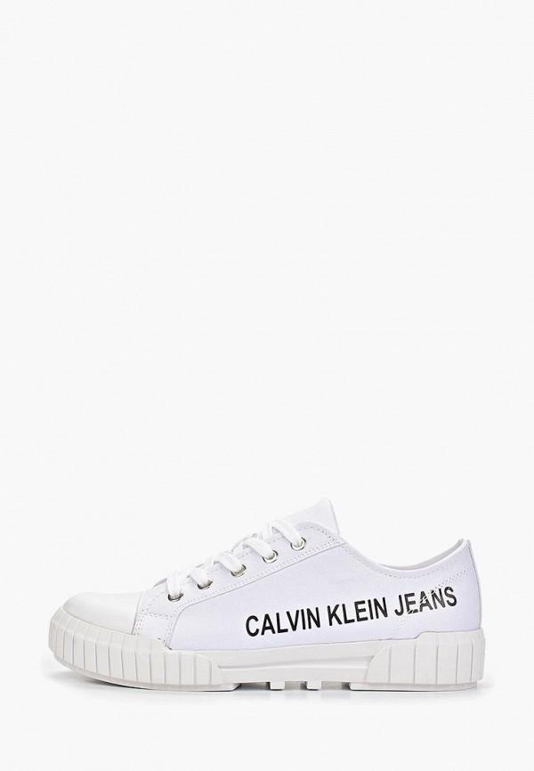 купить Кеды Calvin Klein Jeans Calvin Klein Jeans CA939AWETIF6 дешево