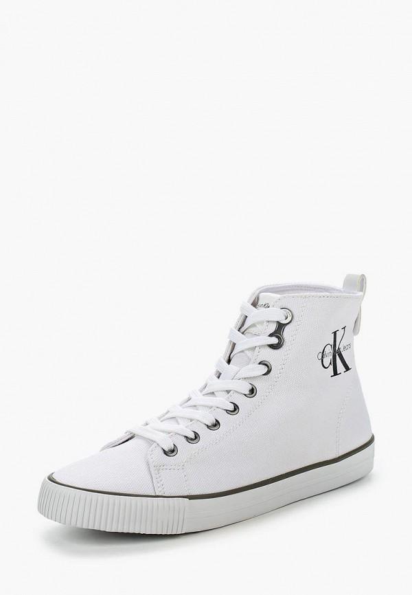 Купить Кеды Calvin Klein Jeans, CA939AWLLH36, белый, Весна-лето 2018