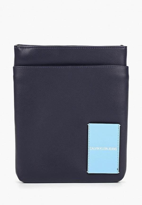 Купить Сумка Calvin Klein Jeans, ca939bmdtxs2, синий, Весна-лето 2019