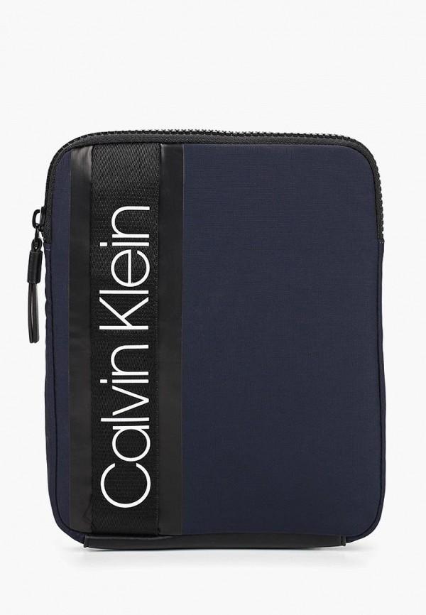 Купить Сумка Calvin Klein Jeans, ca939bmducl9, синий, Весна-лето 2019