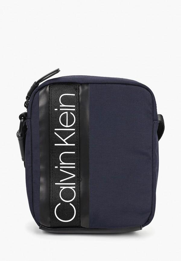 Купить Сумка Calvin Klein Jeans, ca939bmducm1, синий, Весна-лето 2019
