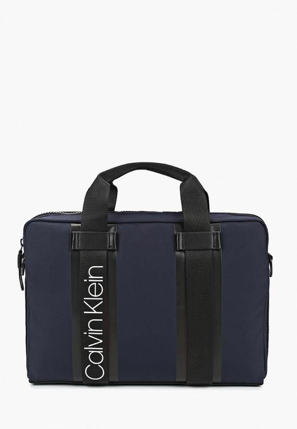 Купить Сумка Calvin Klein Jeans, ca939bmducm8, синий, Весна-лето 2019