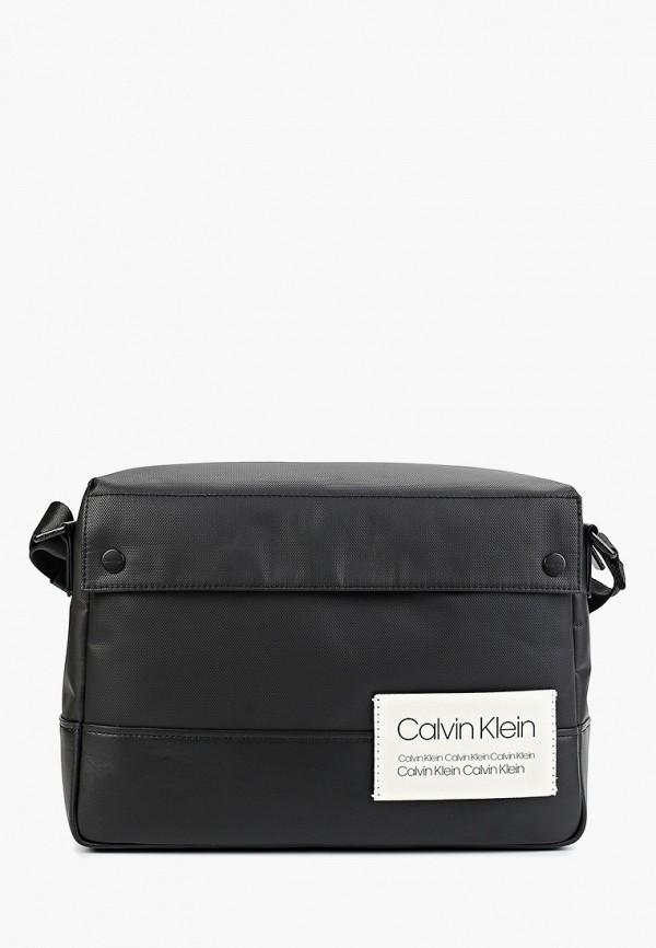 мужской портфель calvin klein, черный