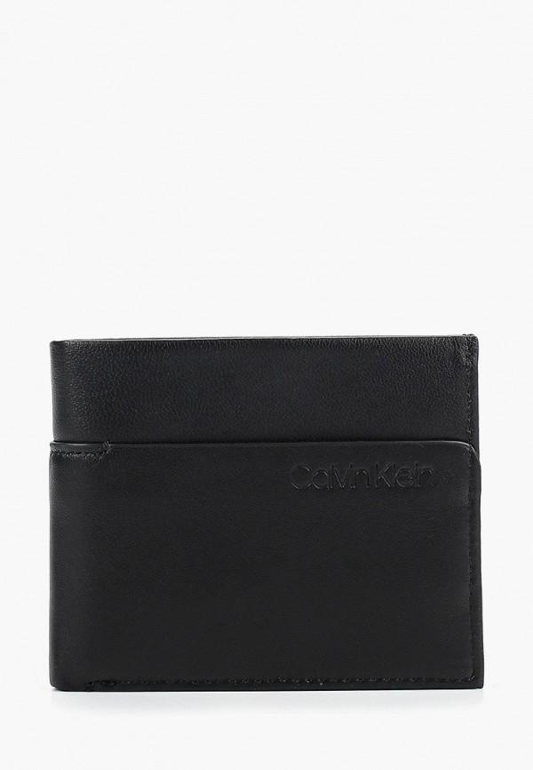 мужской кошелёк calvin klein, черный