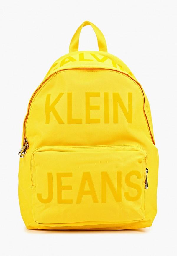 мужской рюкзак calvin klein, желтый