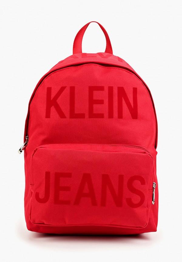 мужской рюкзак calvin klein, красный