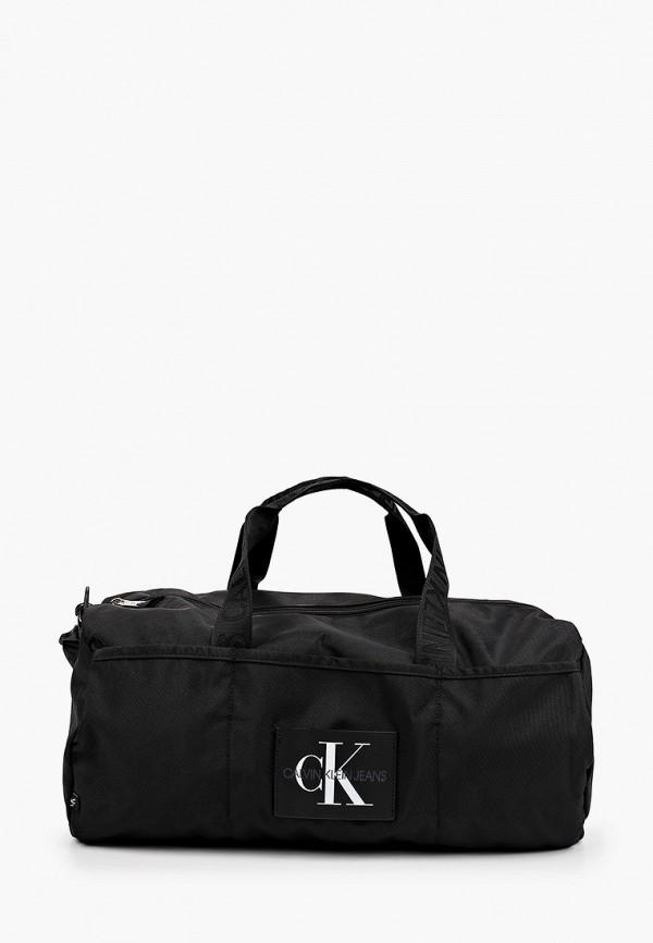 мужская спортивные сумка calvin klein, черная