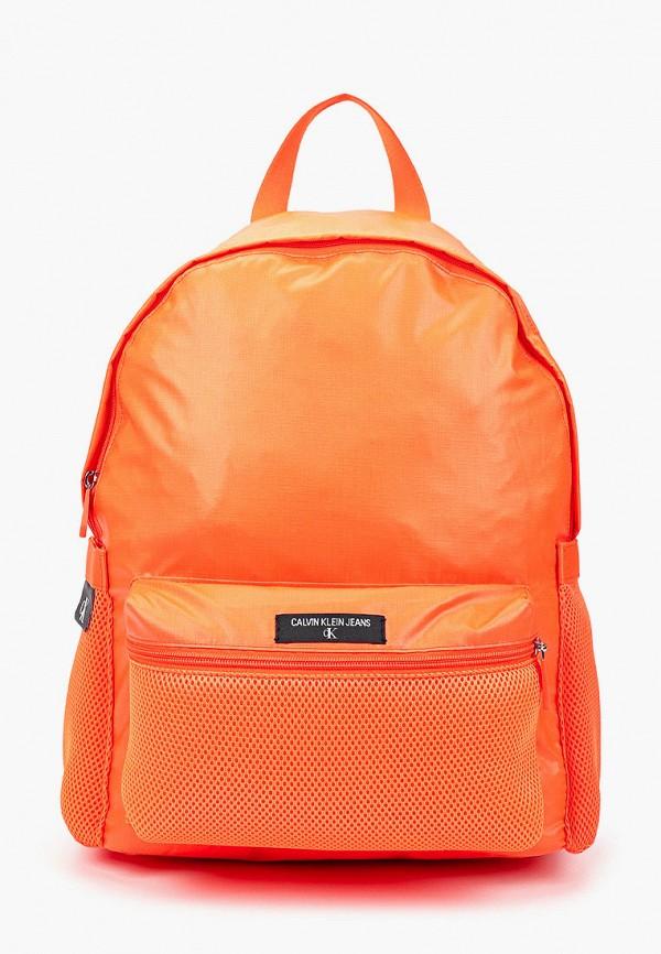 мужской рюкзак calvin klein, оранжевый