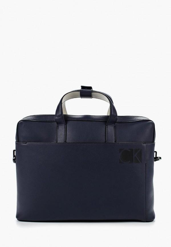 Купить Сумка Calvin Klein Jeans, ca939bmzkz48, синий, Весна-лето 2018