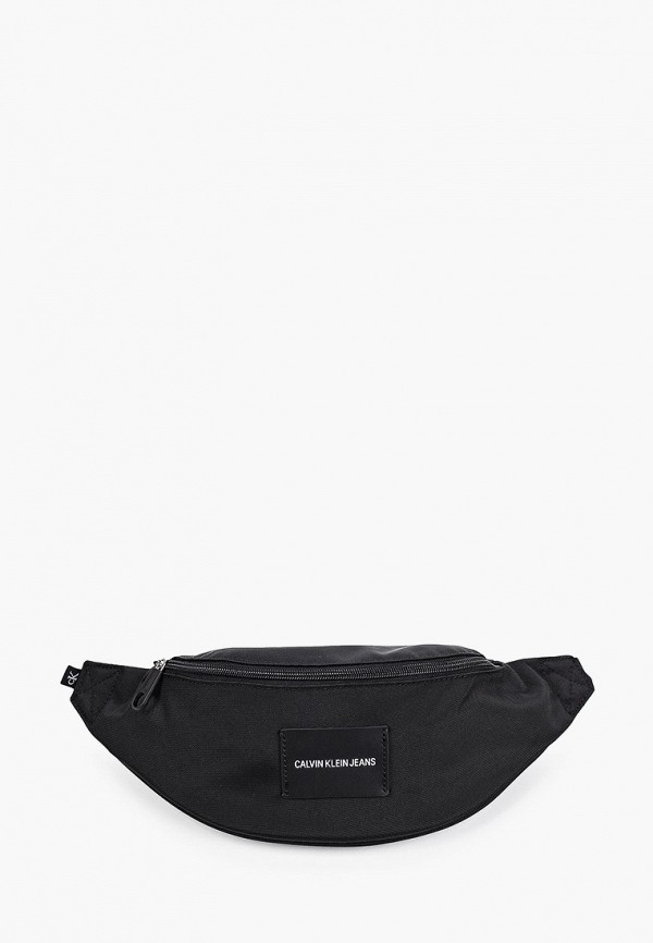 женская поясные сумка calvin klein, черная