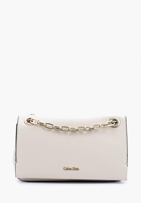 Купить Сумка Calvin Klein Jeans, CA939BWAPQM7, бежевый, Весна-лето 2018