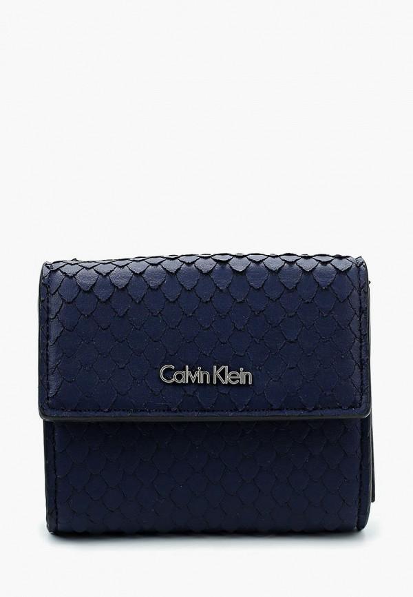 Купить Кошелек Calvin Klein Jeans, CA939BWAPQT3, синий, Весна-лето 2018