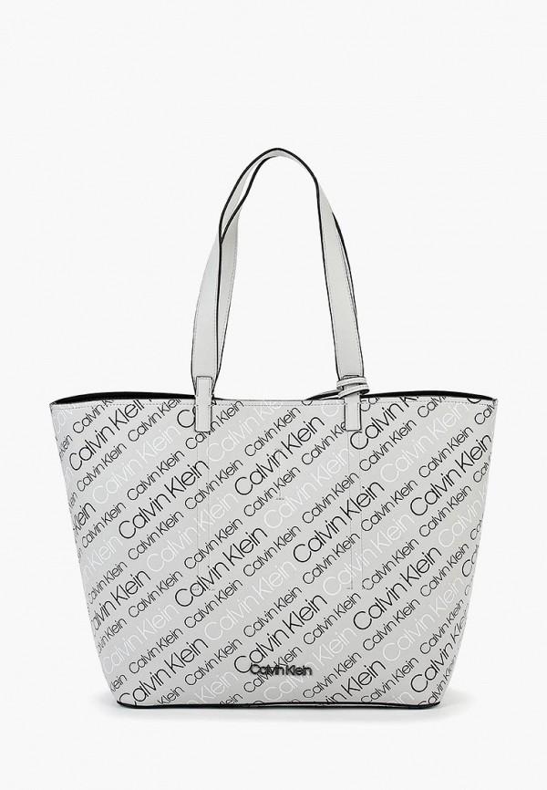 Купить Сумка Calvin Klein Jeans, CA939BWBTHX4, серый, Осень-зима 2018/2019