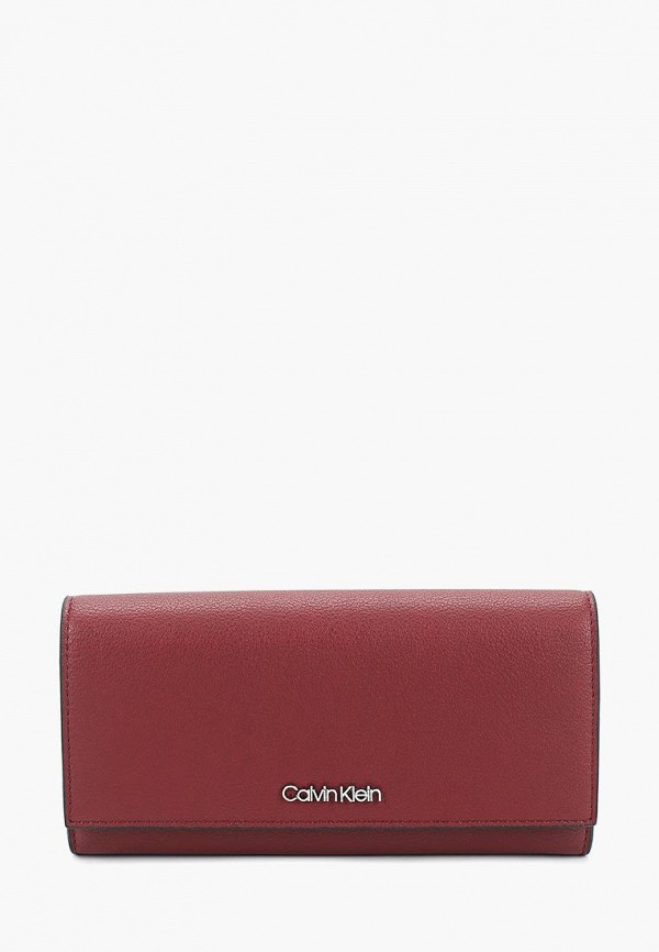 Купить Кошелек Calvin Klein Jeans, ca939bwducr8, бордовый, Весна-лето 2019