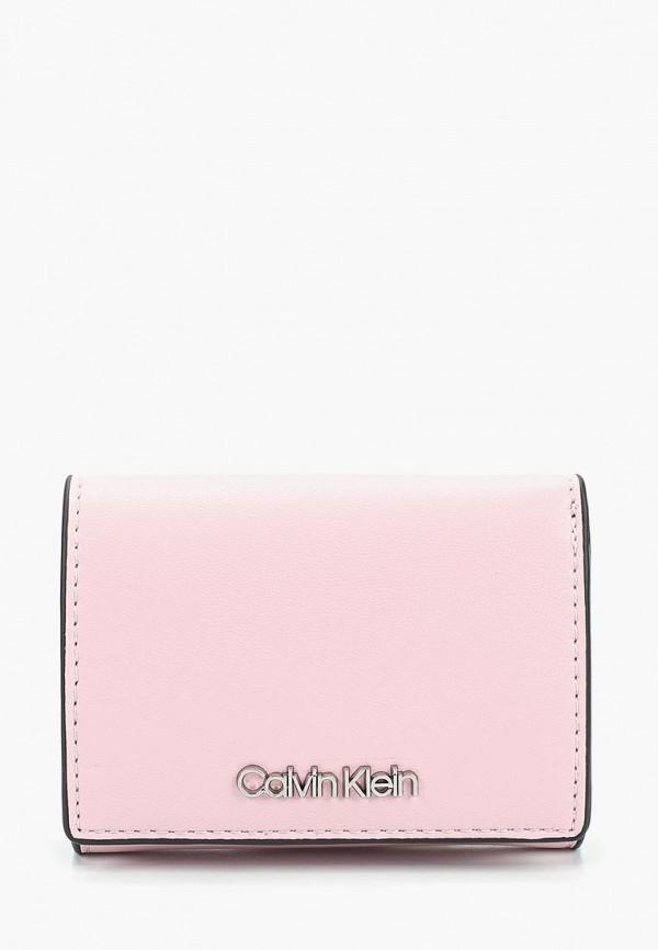 Купить Кошелек Calvin Klein Jeans, ca939bwducs0, розовый, Весна-лето 2019