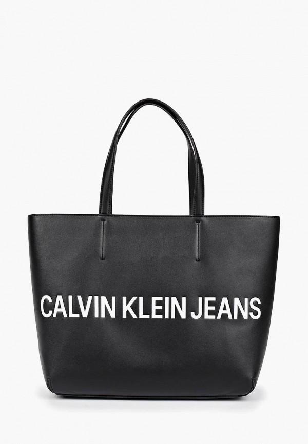 цена Сумка Calvin Klein Jeans Calvin Klein Jeans CA939BWETJE2 онлайн в 2017 году