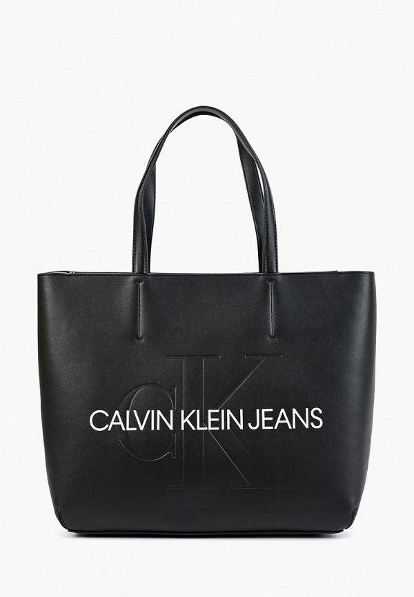 цена Сумка Calvin Klein Jeans Calvin Klein Jeans CA939BWFQYQ7 онлайн в 2017 году