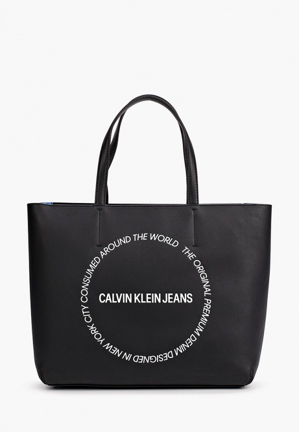 женская сумка calvin klein, синяя