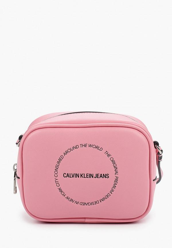 цена Сумка Calvin Klein Jeans Calvin Klein Jeans CA939BWHIRW0 онлайн в 2017 году