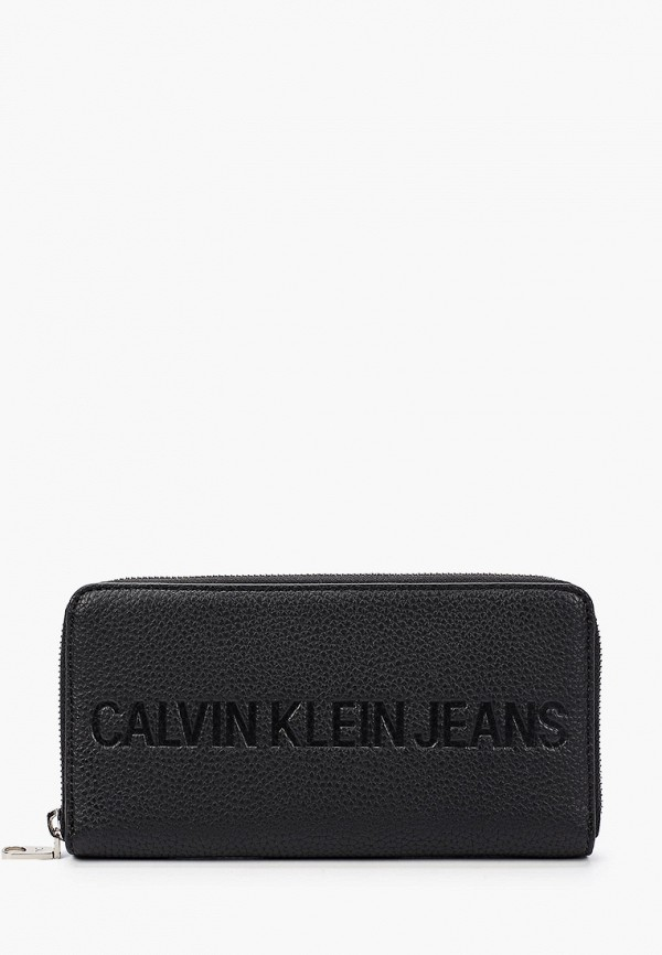 женский кошелёк calvin klein, черный