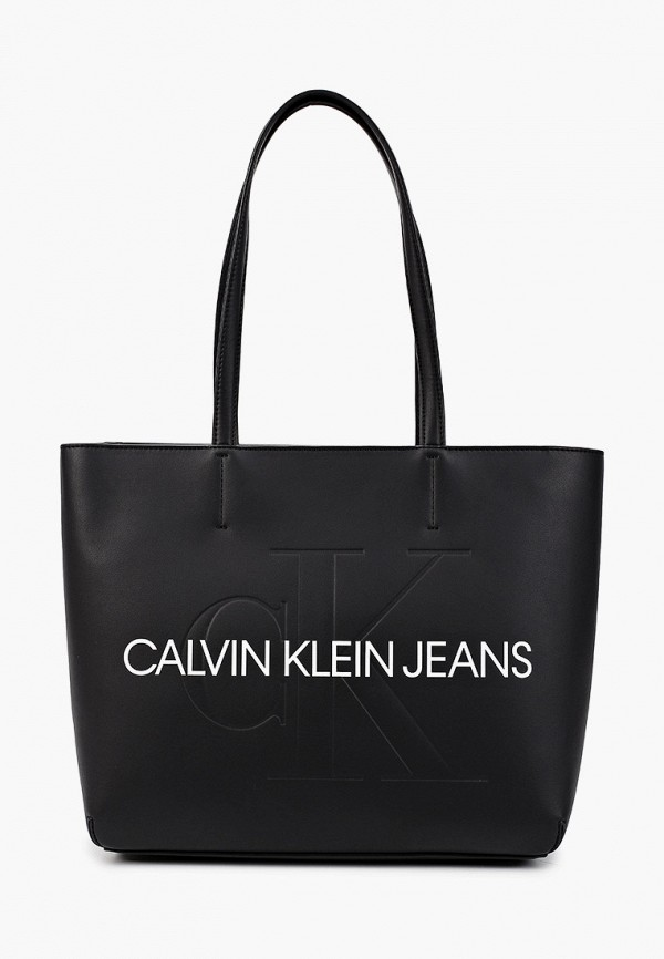 женская сумка calvin klein, черная