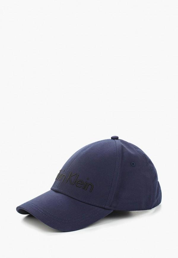 Купить Бейсболка Calvin Klein Jeans, ca939cmapqe4, синий, Весна-лето 2018