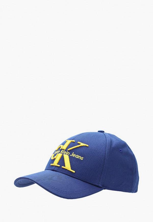 Купить Бейсболка Calvin Klein Jeans, ca939cmapqe7, синий, Весна-лето 2018