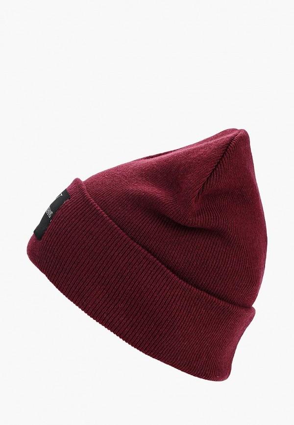 Купить Шапка Calvin Klein Jeans, CA939CMBTKV7, бордовый, Осень-зима 2018/2019