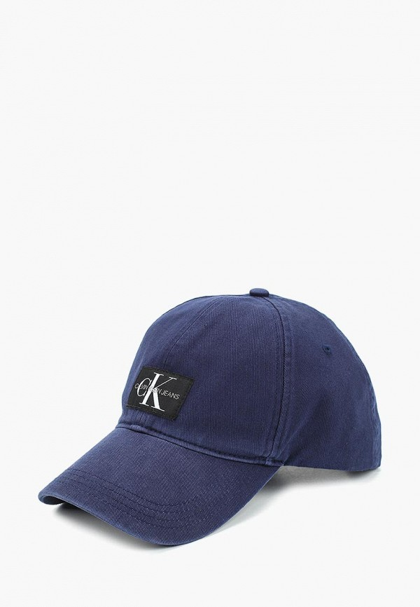 Купить Бейсболка Calvin Klein Jeans, ca939cmducl5, синий, Весна-лето 2019