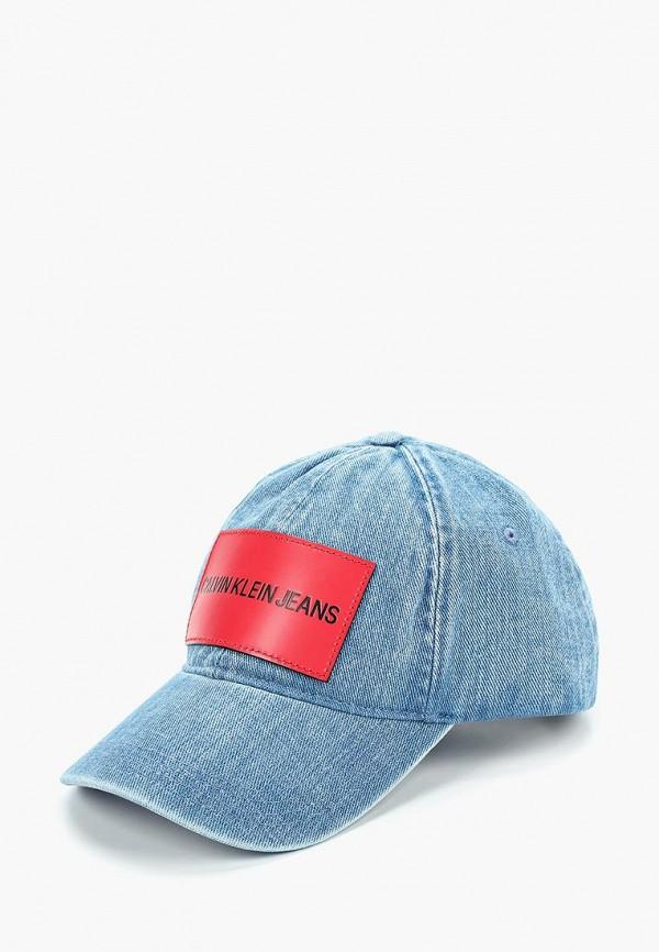 Купить Бейсболка Calvin Klein Jeans, ca939cmducl7, синий, Весна-лето 2019