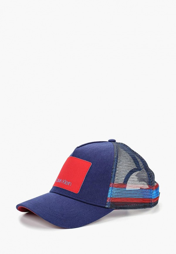 Купить Бейсболка Calvin Klein Jeans, CA939CUBTHZ3, синий, Осень-зима 2018/2019