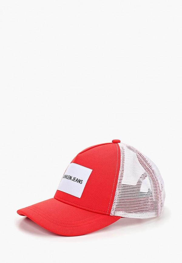 Купить Бейсболка Calvin Klein Jeans, CA939CUBTIE8, красный, Осень-зима 2018/2019