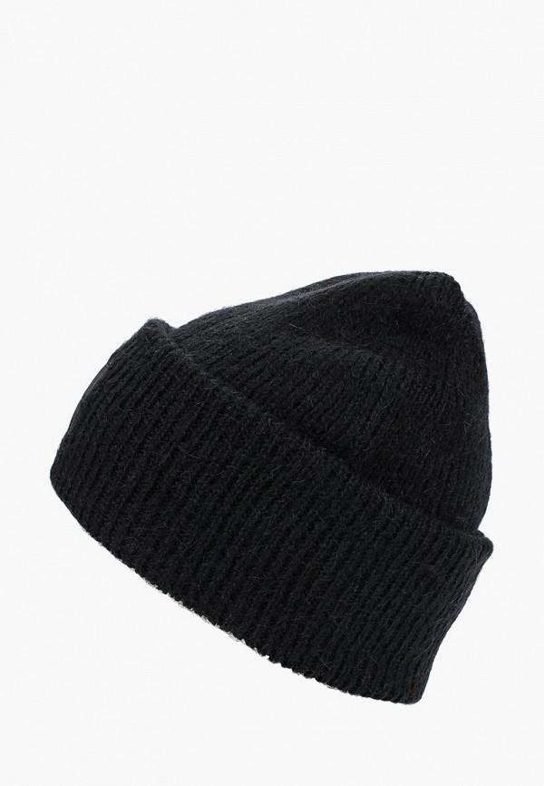 женская шапка calvin klein, черная
