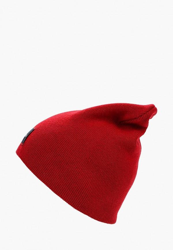 женская шапка calvin klein, красная