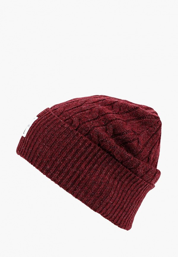 Купить Шапка Calvin Klein Jeans, CA939CWBTKV2, бордовый, Осень-зима 2018/2019