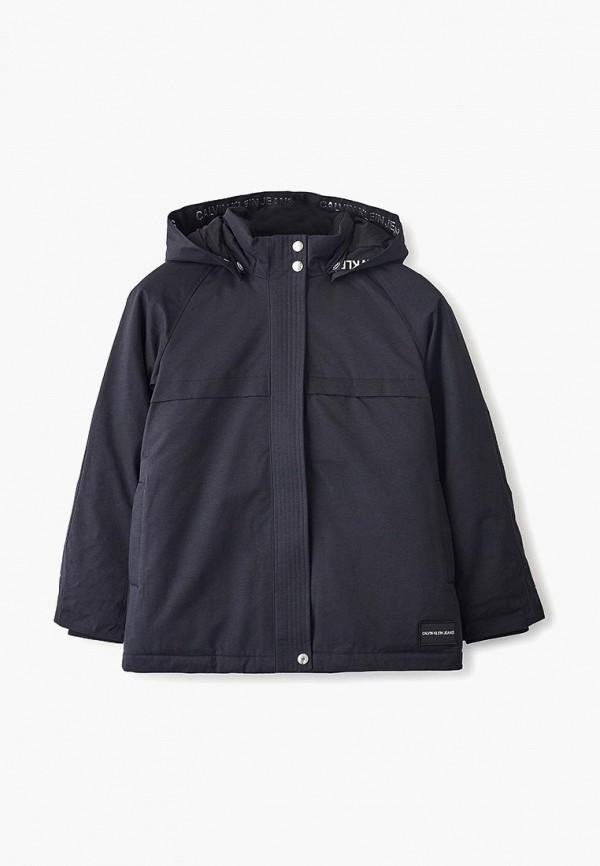 Куртка утепленная Calvin Klein Jeans Calvin Klein Jeans CA939EGFSOT9 цены онлайн
