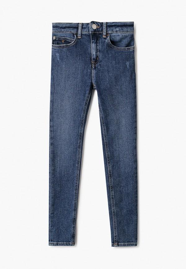 джинсы calvin klein для девочки, синие