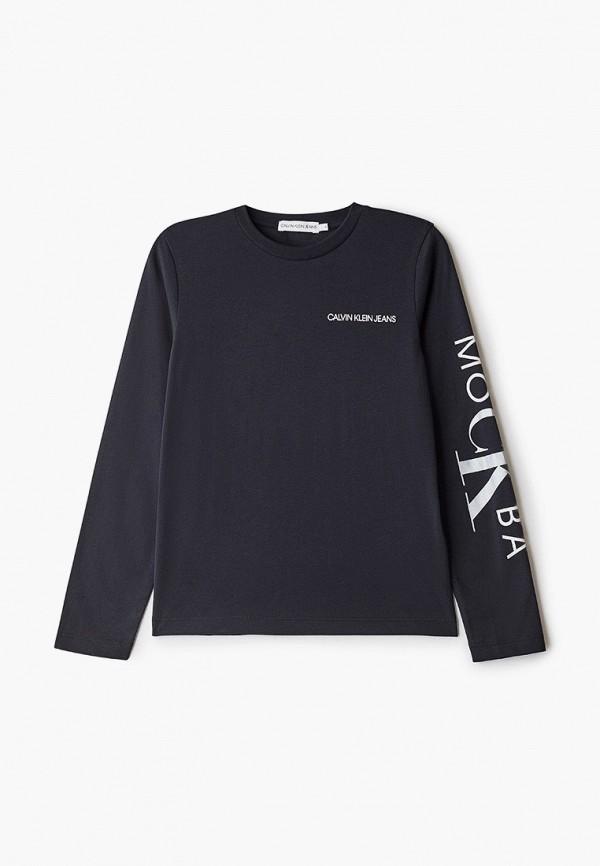 Лонгслив Calvin Klein Jeans Calvin Klein Jeans CA939EKGCLG3 полуботинки calvin klein 5242 cambell black 15
