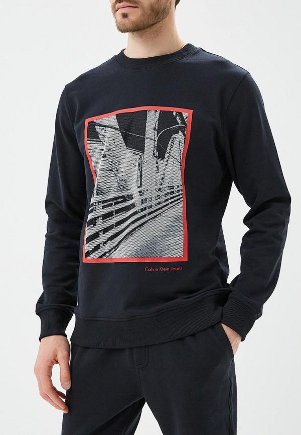Купить Свитшот Calvin Klein Jeans, ca939emapqv1, черный, Весна-лето 2018